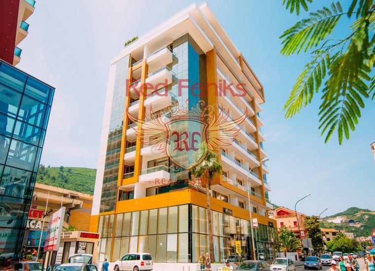Трехкомнатная квартира в Будве в 100 метрах от моря, Квартира в Регион Будва Черногория