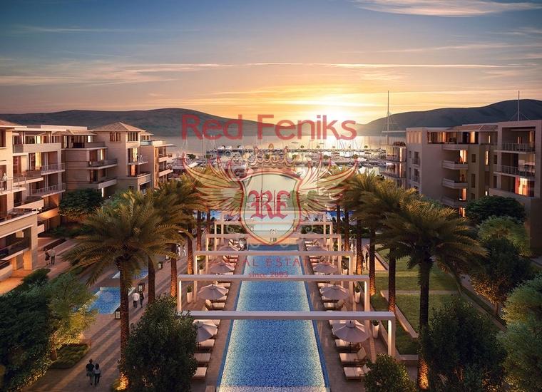 Роскошные апартаменты в Тивате, купить квартиру в Регион Тиват