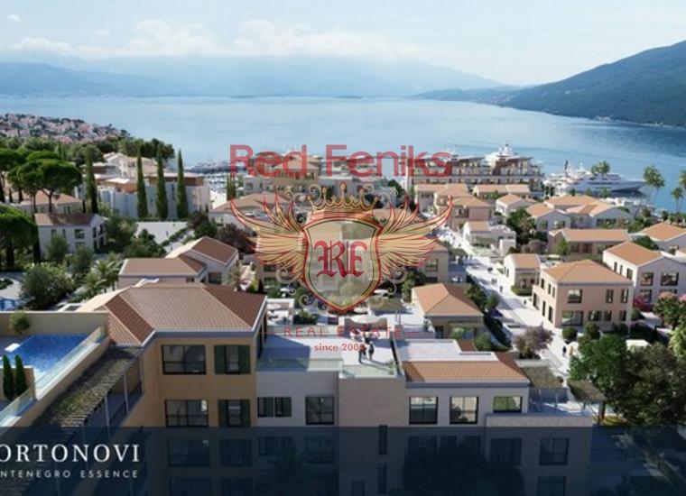 Эксклюзивные Квартиры в Кумборе, Квартира в Херцег Нови Черногория
