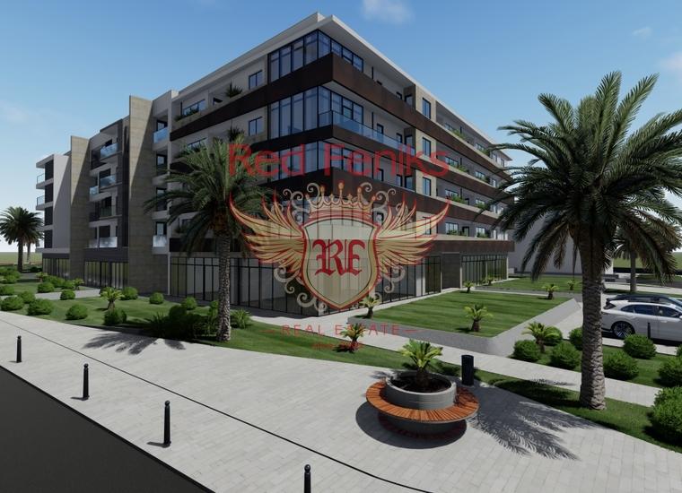 Новый Жилой Комплекс в Тивате, купить квартиру в Регион Тиват