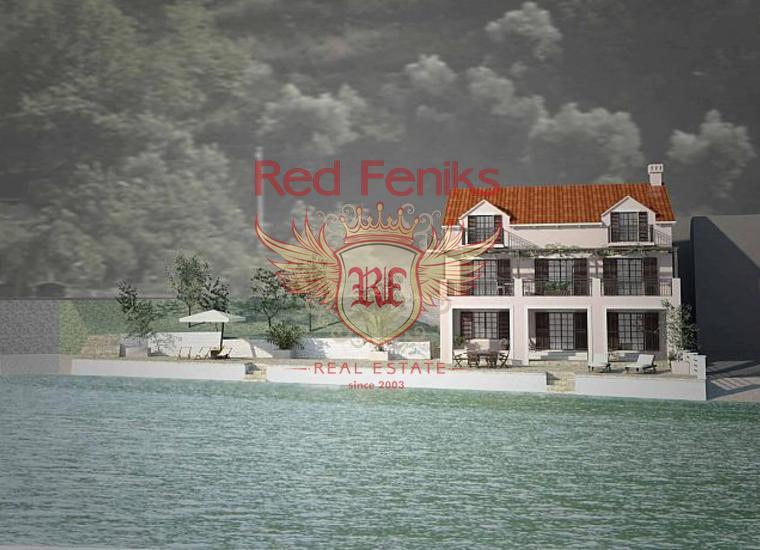 Дом на первой линии в Костанице, купить дом в Которский залив