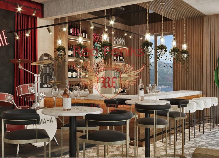 Панорамный Ресторан в Бечичах, Коммерческая недвижимость в Регион Будва Черногория