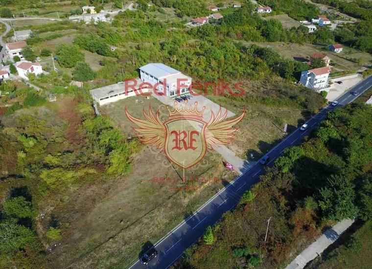Просторные коммерческие помещения в Радановичах, Коммерческая недвижимость в Регион Будва Черногория