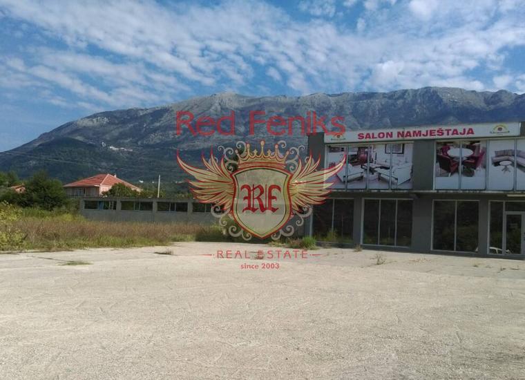 Просторные коммерческие помещения в Радановичах, Коммерческая недвижимость в Радановичи Черногория