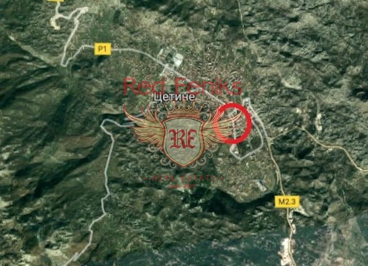 Участок в Цетинье, Земля в Центральный район Черногория