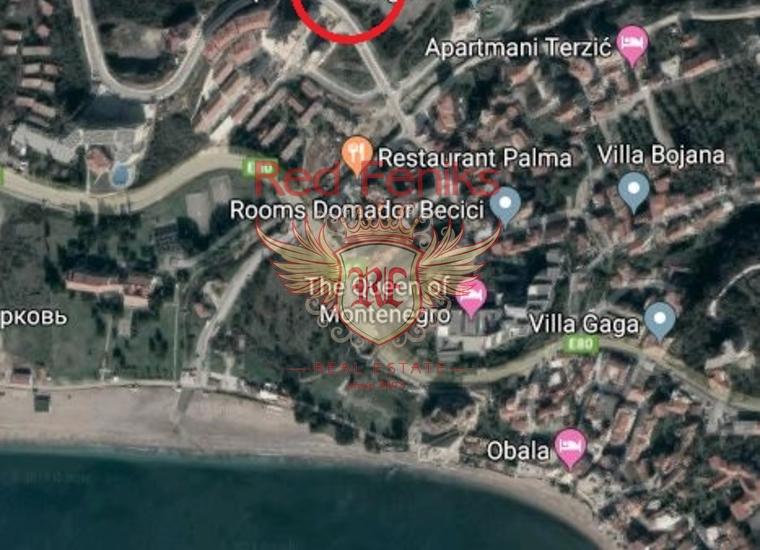 Урбанизированный участок в Бечичи, Участок Бечичи Черногория