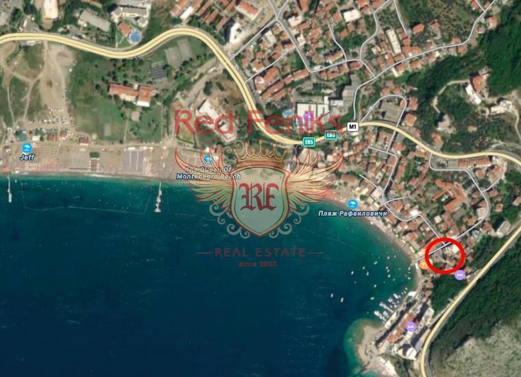 Пентхаус в Рафаиловичах с панорамным видом на море, Квартира в Регион Будва Черногория