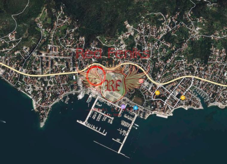 Трехкомнатные Квартиры в элитном комплексе Porto Montenegro на первой линии в Тивате, купить квартиру в Тиват