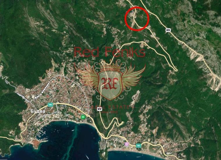 Урбанизированный участок в Станишичах, Будва, Участок Будва Черногория