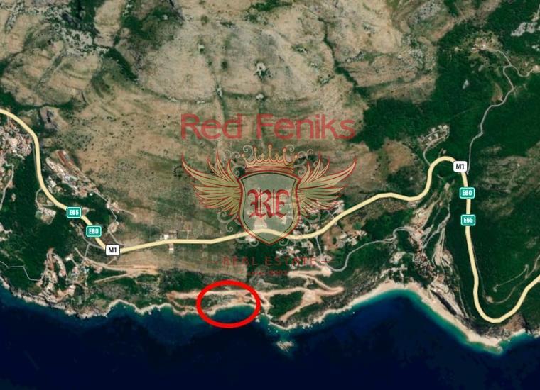 Урбанизированный участок в красивой части Черногории, Скоцидевойка., Земля в Регион Будва Черногория