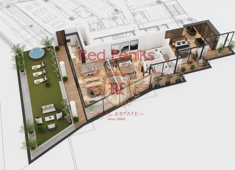 Новый жилой комплекс класса люкс в Бечичи, купить квартиру в Регион Будва