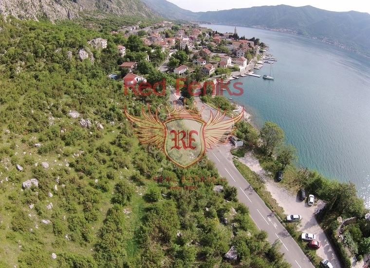 Большой участок в Рисане, Земля в Которский залив Черногория