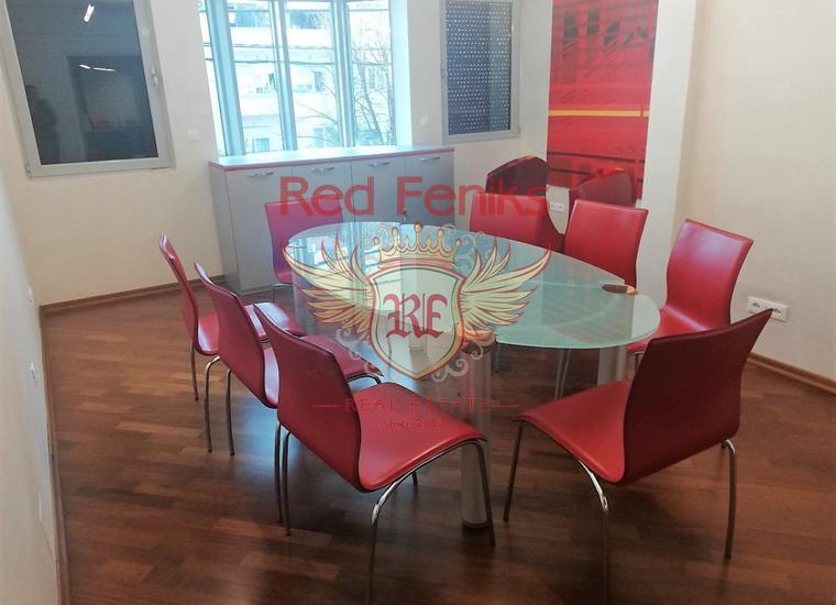 Оборудованный офис в центре Подгорицы, Коммерческая недвижимость в Центральный район Черногория