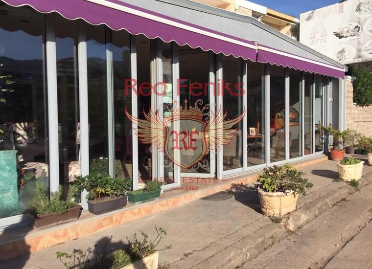 Ресторан на продажу в Бечичи, Черногория.