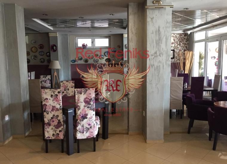 Отличный Ресторан у Моря, Бизнес в Бечичи Черногория
