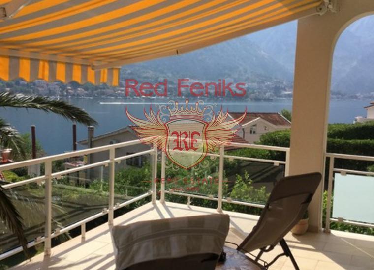Великолепная вилла в Прчани!, Дом в Которский залив Черногория