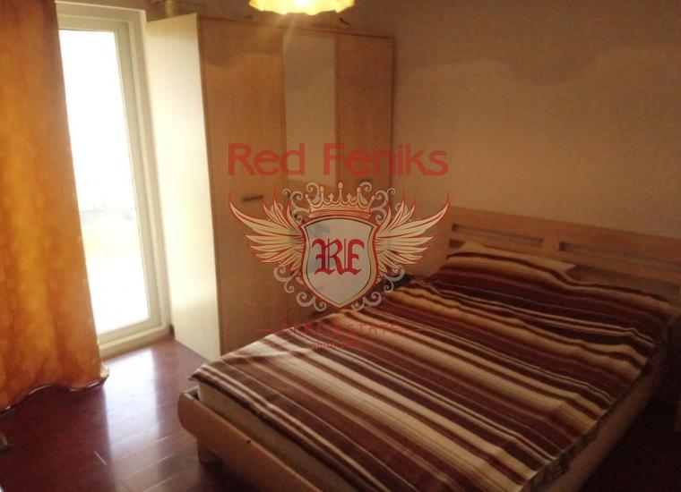 Двухуровневая квартира с 2 спальнями на берегу Бока-Которского залива, Квартира в Херцег Нови Черногория
