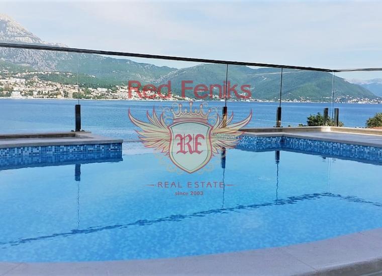 Роскошная вилла со своим пляжем и бассейном в Нивице, Херцег-Нови, Дом в Херцег Нови Черногория