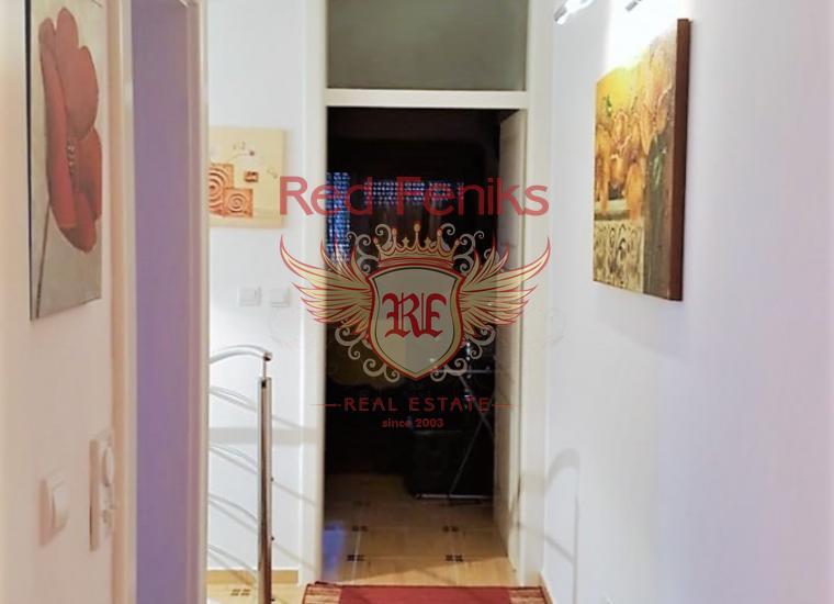 Меблированный дуплекс рядом с Порто Нови, Дженовичи, Квартира в Дженовичи Черногория