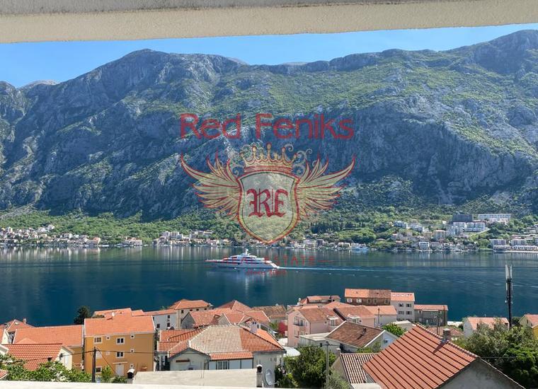 Новая современная вилла с бассейном и видом на море в Бока-Которском заливе, Дом в Которский залив Черногория
