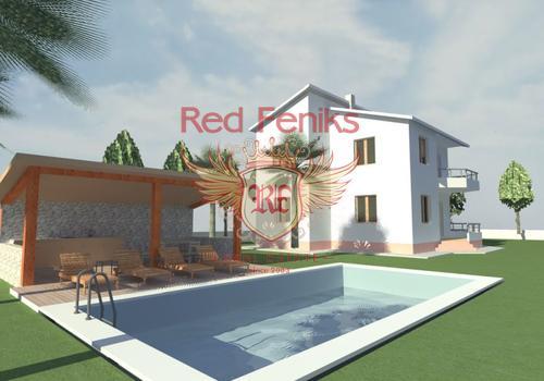 Новый дом на участке 541 м2 в районе места Полье г.