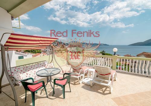 Продается небольшой семейный отель в топле, залив Херцег-Нови.