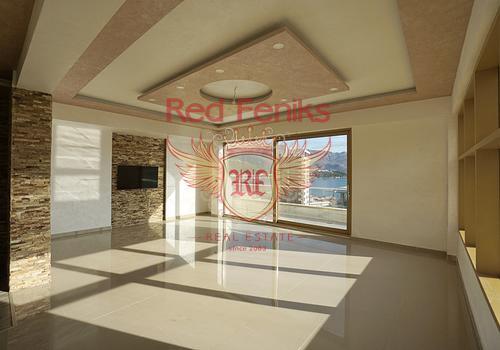 Квартира на продажу, расположена в современном доме в центральной части Будвы рядом с торговым центром TQ PLAZA.