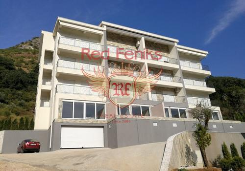 Продается двухкомнатная квартира в Пржно, Будванская Ривьера, Черногория.