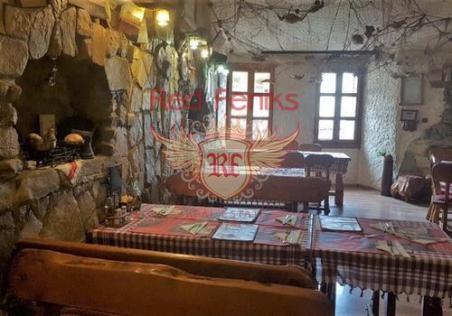 Продается уютный ресторан в старом Баре, Черногория.