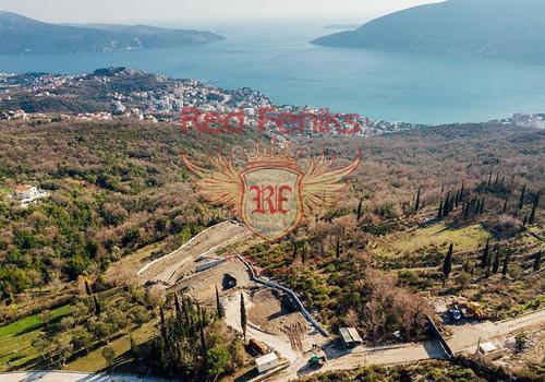 Продается урбанизированный участок в местечке Требешин, возле Херцег-Нови.