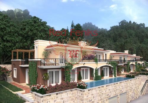 Продаются таунхаусы с 5 спальнями площадью от 125 м2 до 250 м2 в Ораховце.