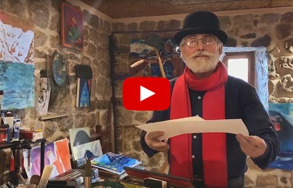 Необычные люди Черногории - в гостях у художника
